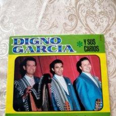 Discos de vinilo: DISCO EP VINILO DIGNO GARCÍA Y SUS CARIOS. Lote 246189535