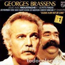 Discos de vinilo: GEORGES BRASSENS JOUE AVEC MOUSTACHE ET LES PETITS FRANÇAIS - JOE NEWMAN VINILO. Lote 246193640