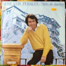 Discos de vinilo: LIQUIDACION LP EN PERFECTO ESTADO_JOSE LUIS PERALES_NIDO DE AGUILA. Lote 246194110