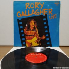 Discos de vinilo: RORY GALLAGHER - RORY GALLAGHER LIVE 1976 ED UK. Lote 246196510