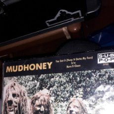 "Discos de vinilo: SINGLE 7""45 RPM - MUDHONEY ""YOU GOT IT (KEEP...)""//""BURN IT CLEAN"" (1989 GARAGE GRUNGE SUB POP). Lote 246204080"