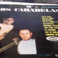 Discos de vinilo: CANTAN LOS CARABELAS - LP.SONOPLAY 1968 -- FOLKLORE DE CANTABRIA Y LATINO. Lote 246205460