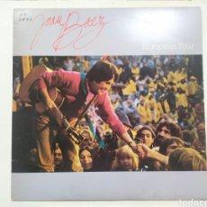 Discos de vinilo: LP JOAN BÁEZ. EUROPEA TOUR. 1980 CBS. Lote 246214635