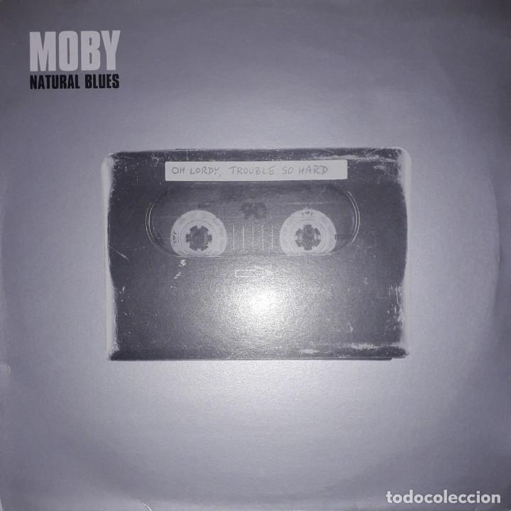 "SINGLE 12"" 45 RPM - MOBY ""NATURAL BLUES""(KATCHA REMIX)//""NATURAL BLUES""(PEACE DIVISION DUB) - (2000) (Música - Discos - Singles Vinilo - Electrónica, Avantgarde y Experimental)"