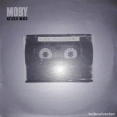 """Discos de vinil: SINGLE 12"""" 45 RPM - MOBY """"NATURAL BLUES""""(KATCHA REMIX)//""""NATURAL BLUES""""(PEACE DIVISION DUB) - (2000). Lote 246216160"""