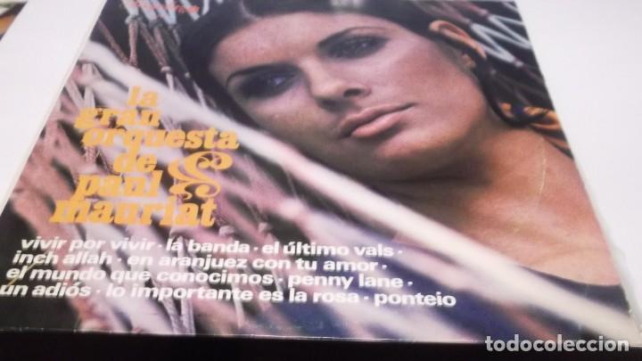 LA GRAN ORQUESTA DE PAUL MAURIAT .LP PERGOLA .1968 - PENNY LANE(THE BEATLES) Y 9 CANCIONES MAS (Música - Discos - LP Vinilo - Orquestas)