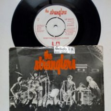 Discos de vinilo: SG: THE STRANGLERS - SOMETHING BETTER CHANGE + STRAIGHTEN OUT (UA, 1977). Lote 246222435