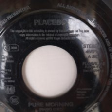Discos de vinilo: PLACEBO- PURE MORNING,RARO SINGLE DE UK VERSION JUKEBOX. Lote 246229215