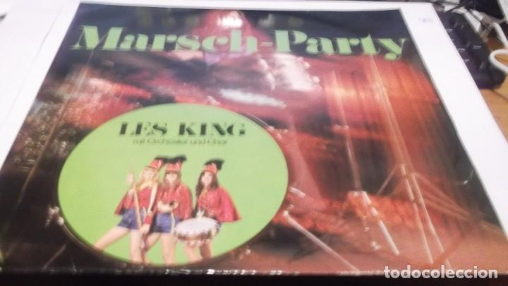 MARSH-PARTY - LES KING .MIT ORCHESTER UND CHOR . LP MADE IN GERMANY 1983- MUSICA BEAT-BEAT FOX-FOX (Música - Discos - LP Vinilo - Orquestas)