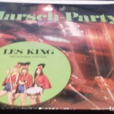 Discos de vinilo: MARSH-PARTY - LES KING .MIT ORCHESTER UND CHOR . LP MADE IN GERMANY 1983- MUSICA BEAT-BEAT FOX-FOX. Lote 246230405