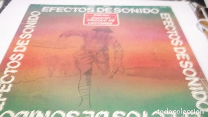 EFECTOS DE SONIDO.DOBLE LP,1981.DIAL DISCOS-EFECTOS GUERRA,ORGANILLOS,JUGUETES.CAMPANAS,PAJAROS,FORD (Música - Discos - LP Vinilo - Orquestas)