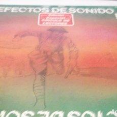 Discos de vinilo: EFECTOS DE SONIDO.DOBLE LP,1981.DIAL DISCOS-EFECTOS GUERRA,ORGANILLOS,JUGUETES.CAMPANAS,PAJAROS,FORD. Lote 246232890