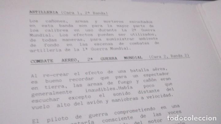 Discos de vinilo: EFECTOS DE SONIDO.DOBLE LP,1981.DIAL DISCOS-EFECTOS GUERRA,ORGANILLOS,JUGUETES.CAMPANAS,PAJAROS,FORD - Foto 3 - 246232890