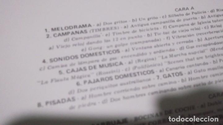 Discos de vinilo: EFECTOS DE SONIDO.DOBLE LP,1981.DIAL DISCOS-EFECTOS GUERRA,ORGANILLOS,JUGUETES.CAMPANAS,PAJAROS,FORD - Foto 5 - 246232890