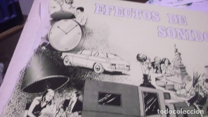 Discos de vinilo: EFECTOS DE SONIDO.DOBLE LP,1981.DIAL DISCOS-EFECTOS GUERRA,ORGANILLOS,JUGUETES.CAMPANAS,PAJAROS,FORD - Foto 10 - 246232890