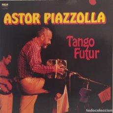 Discos de vinilo: LP DOBLE- ASTOR PIAZZOLLA - TANGO FUTUR. Lote 246234125