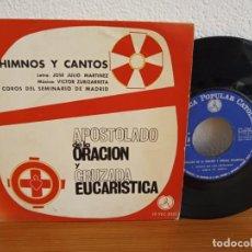 Discos de vinilo: EP APOSTOLADO DE LA ORACIÓN Y CRUZADA EUCARÍSTICA - PAX (1964). Lote 246234485