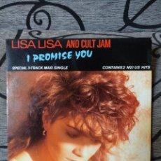 Discos de vinilo: LISA LISA AND CUT JAM - I PROMESED YOU. Lote 246238685