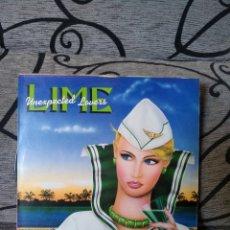 Discos de vinilo: LIME - UNEXPECTED LOVERS. Lote 246240155