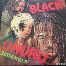 Discos de vinilo: BLACK UHURU / SINSEMILLA. UK. Lote 246242310
