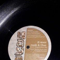 "Discos de vinil: MAXI SINGLE 12"" - JOESKI & CHUS ""EL AMOR"" (HOUSE 2002). Lote 246243130"