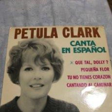 Discos de vinilo: PETULA CLARK . CANTA EN ESPAÑOL . 1964. Lote 246245195