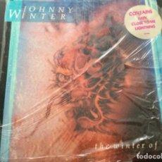Discos de vinilo: JOHNNY WINTER - THE WINTER OF ' 88 .USA. Lote 246245305