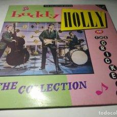Disques de vinyle: LP - BUDDY HOLLY & THE CRICKETS – THE COLLECTION - CCSLP 172 - 2LP - CARPETA ( VG+ / VG+) UK 1987. Lote 246247515