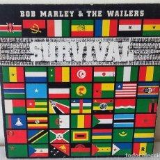 Discos de vinilo: BOB MARLEY & THE WAILERS - SURVIVAL TUFF GONG - 1979. Lote 246249695