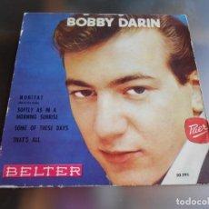 Discos de vinilo: BOBBY DARIN, EP, MORITAT ( MACK THE KNIFE) + 3 ,AÑO 1959. Lote 246251630