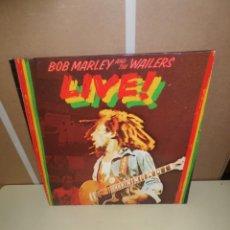 Discos de vinilo: BOB MARLEY & THE WAILERS / BOB MARLEY AND THE WAILERS - LIVE - LP - DISPONGO DE MAS DISCOS DE VINILO. Lote 246252335