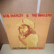 Discos de vinilo: BOB MARLEY & THE WAILERS - RASTAMAN VIBRATION - LP - DISPONGO DE MAS DISCOS DE VINILO. Lote 246252750