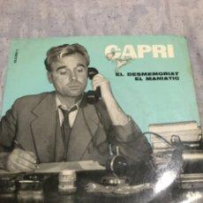 Discos de vinilo: JOAN CAPRI . MONOLOGOS . 1ERA ED 1961. Lote 246253145