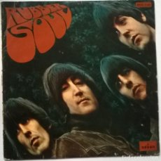 Discos de vinilo: THE BEATLES. RUBBER SOUL. EMI-ODEON, SPAIN 1965 LP (MOCL 5.300) MONO ORIGINAL 1966. Lote 246256340