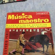 Discos de vinilo: SILVERIO PEREZ 1ED 1963 INCREIBLE. Lote 246256390