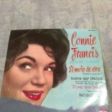 Discos de vinilo: CONNIE FRANCIS CANTA EN ESPAÑOL 1ERA ED 1961. Lote 246260605