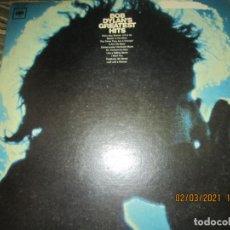 Discos de vinilo: BOB DYLAN - GREATEST HITS LP - ORIGINAL U.S.A. - !!!MONO!!! - COLUMBIA 1967 360 SOUND LABEL -. Lote 246260950
