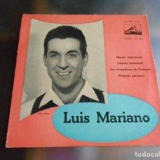 Dischi in vinile: LUIS MARIANO, EP, PAJARO ENJAULADO + 3 ,AÑO 1959. Lote 246268415