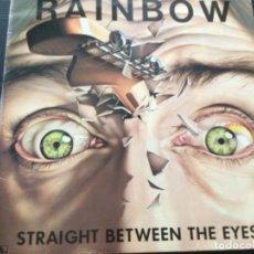 Discos de vinilo: RAINBOW - STRAIGHT BETWEEN THE EYES. Lote 246272050