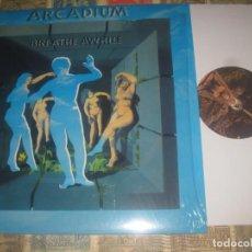 Discos de vinilo: ARCADIUM - BREATHE AWHILE ( 2003 -1969 AKARMA )EDITADO ITALIA NUEVO. Lote 246273745
