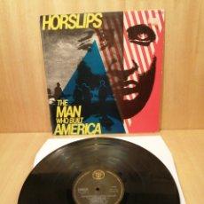 Discos de vinilo: HORSLIPS. THE MAN WHO BUILT AMERICA.. Lote 246273905