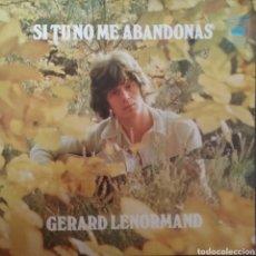 Disques de vinyle: GERARD LENORMAN. SINGLE. SELLO CBS. EDITADO EN ESPAÑA. AÑO 1973. Lote 246274070