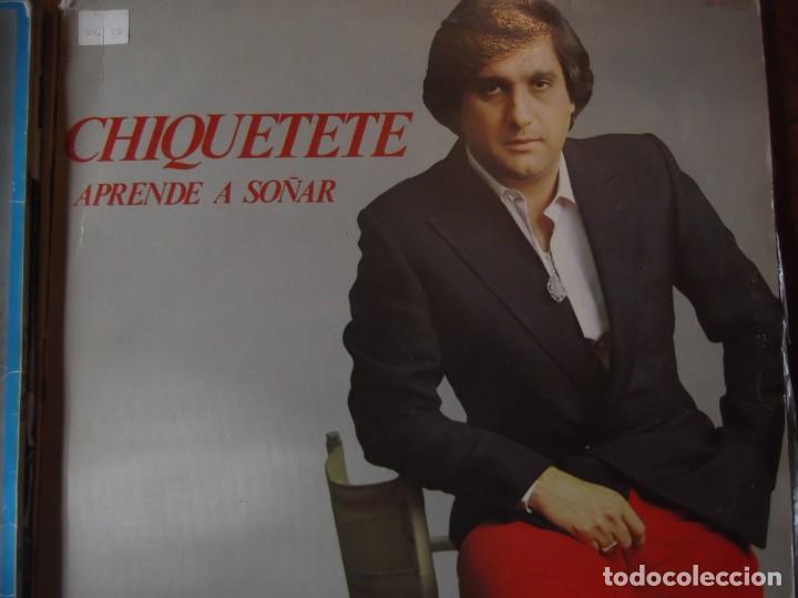 DISCO LP CHIQUITETE APRENDE A SOÑAR (Música - Discos - LP Vinilo - Flamenco, Canción española y Cuplé)