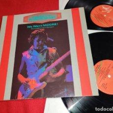 "Discos de vinilo: GARY MOORE WE WANT MOORE! RECORDED LIVE IN CONCERT LP + 12"" MX 1984 VIRGIN ESPAÑA SPAIN GATEFOLD. Lote 246289895"