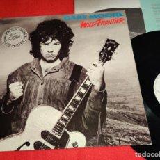 Discos de vinilo: GARY MOORE WILD FRONTIER LP 1987 VIRGIN EDICION ESPAÑOLA SPAIN. Lote 246290225