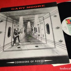 Discos de vinilo: GARY MOORE CORRIDORS OF POWER LP 1982 VIRGIN UK. Lote 246291195