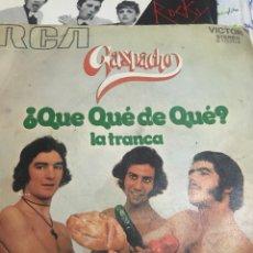 Discos de vinilo: GASPACHO . SUPER S/GLE 1ERA ED 1972. Lote 246296515