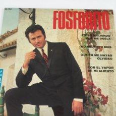 Discos de vinilo: DISCO FOSFORITO. Lote 246301580