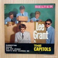 "Discos de vinilo: LEE GRANT & THE CAPITOLS ""SUMMERTIME 1965 EP BELTER. Lote 246303400"