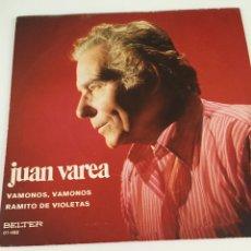 Discos de vinilo: DISCO JUAN VAREA. Lote 246303555